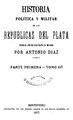 Historia política y militar de las Repúblicas del Plata - Antonio Diaz (parte primera tomos 3 y 4).pdf