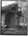 Historic American Buildings Survey. - Log Cabin, Harrells, Sampson County, NC HABS NC,82-KER.V,1-2.tif
