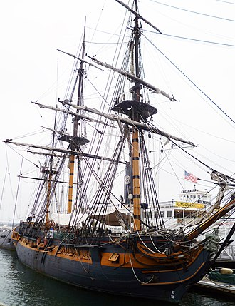 Master and Commander: The Far Side of the World - HMS Surprise (replica)