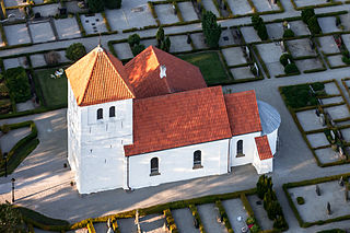 church building in Kävlinge Municipality, Skåne County, Sweden