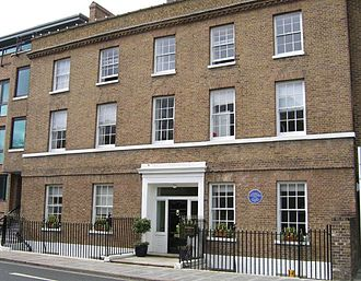 Hogarth Press - Hogarth House, 34 Paradise Road, Richmond, London