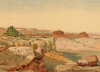 William Henry Holmes - Image: Holmes 1877 Kanab Desert dut 0035b