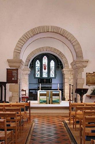 Holy Trinity Church, Weston - The altar in Holy Trinity church