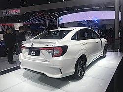 2019 Honda Accord >> Honda Crider - Wikipedia