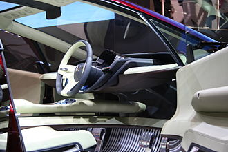 Honda FCX - Honda FCX concept interior, 2005 Tokyo Motor Show