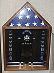 Honor Guard display, Merrill McPeak exhibit - Oregon Air and Space Museum - Eugene, Oregon - DSC09897.jpg