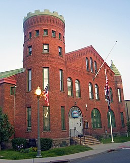 Hoosick Falls Armory United States historic place