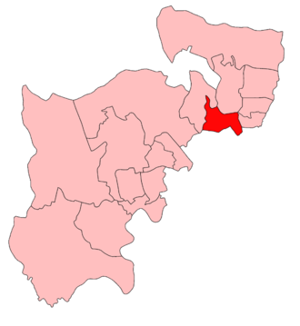Hornsey (UK Parliament constituency) - Image: Hornsey 1918