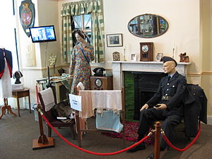 Horsforth - The Home Front: World War II display in Horsforth Museum