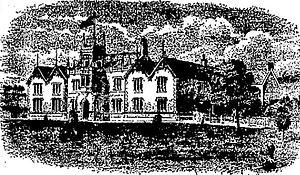 Horton College - 1937 sketch of the school