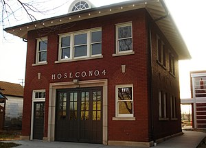 Bohemian Commercial Historic District - Hose Company No. 4