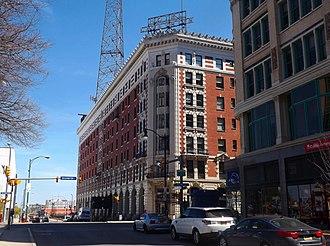 Lafayette Square (Buffalo) - Image: Hotel Lafayette