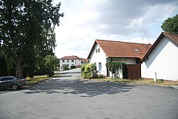 Houses in Ježov, Pelhřimov District.jpg