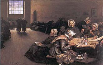 Hubert von Herkomer - Image: Hubert von Herkomer 1878 Eventide