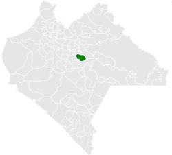 Municipality of Huixtán in Chiapas