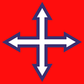Hungary arrow cross-red white blue.png