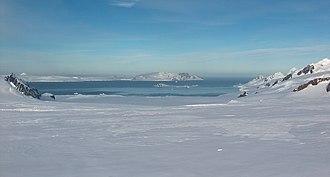 Whaling in Scotland - Huron Glacier and McFarlane Strait on Livingston Island, South Shetlands