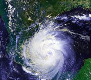 Hurricane Diana - Image: Hurricane Diana 07 aug 1990 2011Z