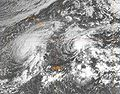 Hurricane Huko and Tropical Storm Lowell (2002).JPG