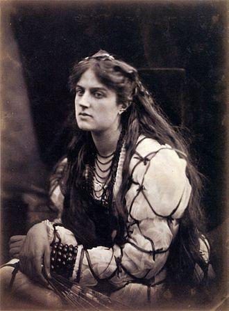 Hypatia - Julia Margaret Cameron's 1867 photograph, Hypatia