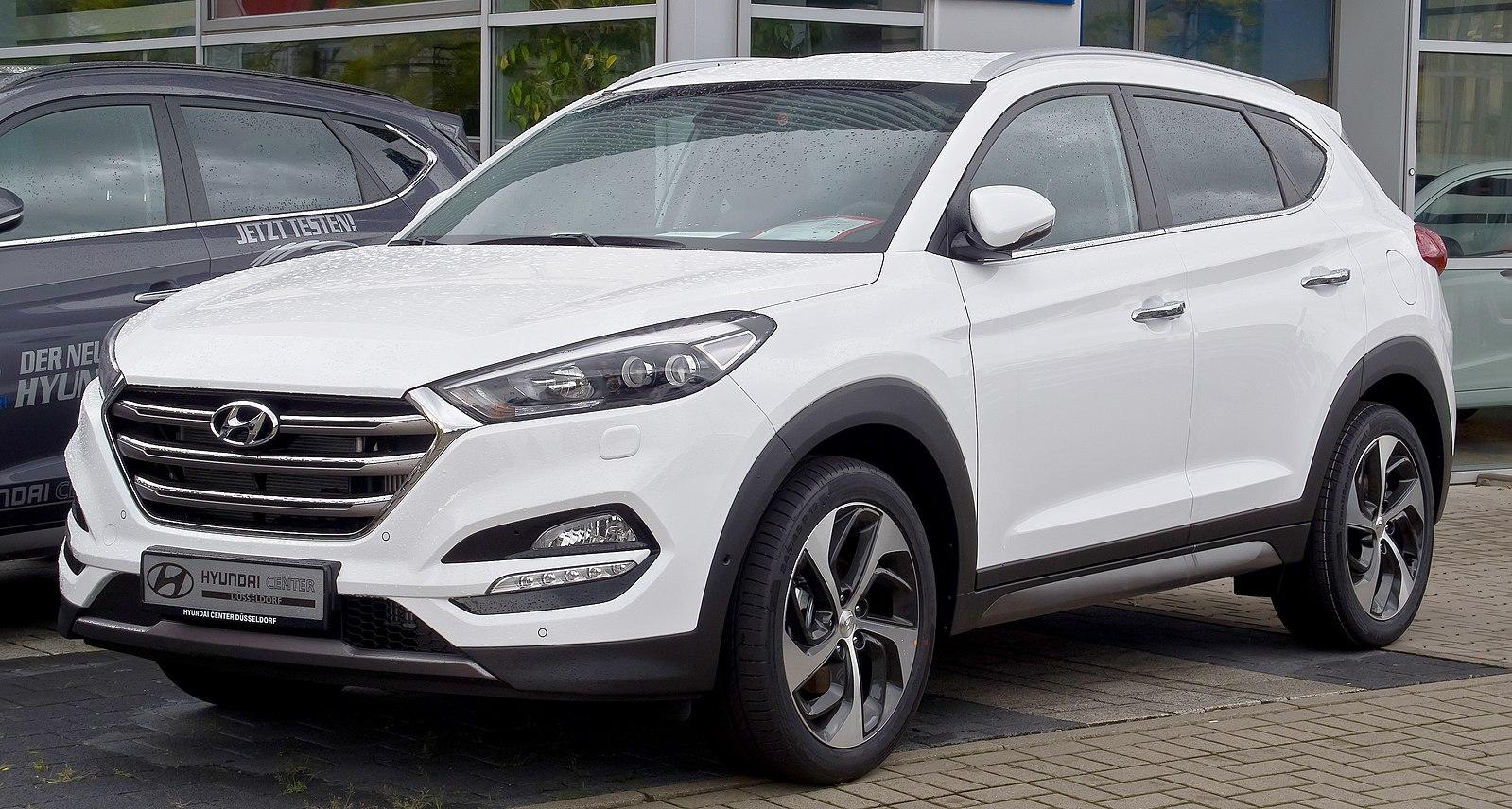 White Hyundai