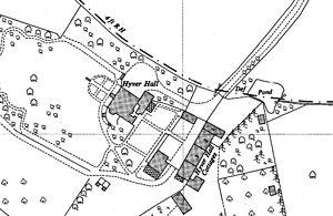 Harpinder Singh Narula - Map of Hyver Hall, c. 1960