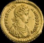 INC-2965-a Солид.  Валентиниан II.  Ок.  388—392 гг.  (аверс) .png