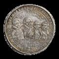 INC-888-r Талер Саксония-Веймар Иоганн Эрнст и его 7 братьев 1613 г. (реверс).png