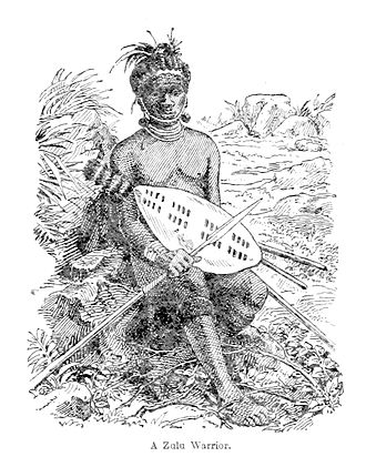 Battle of Maqongqo - A Zulu warrior contemporary with the battle