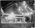 INTERIOR, UPPER LEVEL, LOOKING WEST - Foster-Armstrong Farm, Barn, Old Mine Road, Montague, Sussex County, NJ HABS NJ,19-MOGU.V,2-A-2.tif