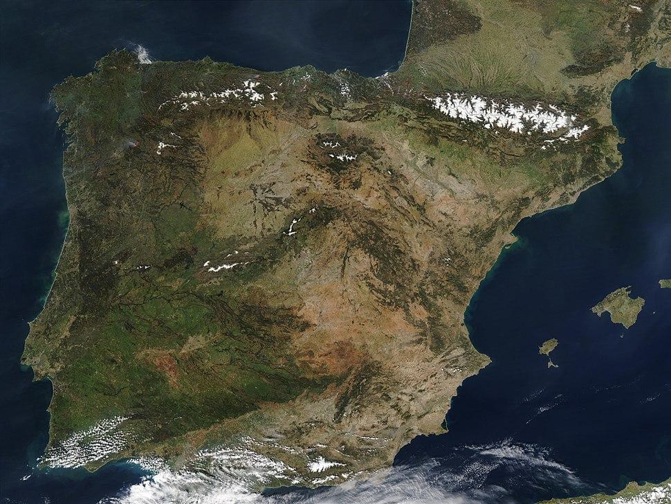 IberianPeninsulaNASA