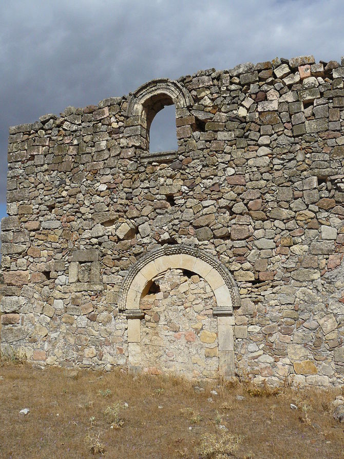 English: Ruins of the church of the Espíritu S...