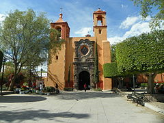 Iglesia del Hospital de San Juan de Dios de San Miguel de Allende, Guanajuato