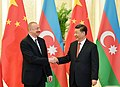 Ilham Aliyev met with Chairman of People's Republic of China Xi Jinping in Beijing 01.jpg