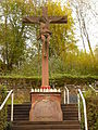 Im Hain Kreuz am Friedhof (Rieneck).JPG