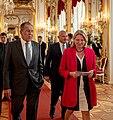 Im Rahmen des Besuchs von Präsident Vladimir Putin trifft sich Außenministerin Karin Kneissl mit ihrem russischen Amtskollegen Sergej Lawrow (41895696774).jpg