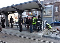 Inauguration de la branche vers Vieux-Condé de la ligne B du tramway de Valenciennes le 13 décembre 2013 (137).JPG