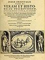 Indiae Orientalis pars VI. Veram et historicam descriptionem auriferi regni Guineae, ad Africam pertinentis, quod alias littus de Mina vocant, continens indiaeorientalis00mare 1 0007.jpg