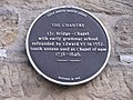 Information plaque, The Chantry - geograph.org.uk - 1941625.jpg
