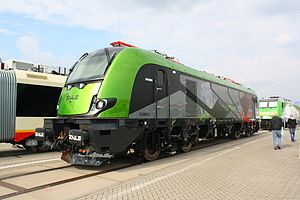 Newag Griffin - The Newag Griffin during InnoTrans Trade Fair in 2012.