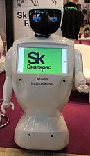 Innorobo 2015 - Skolkovo Robotics Center - Promobot.JPG
