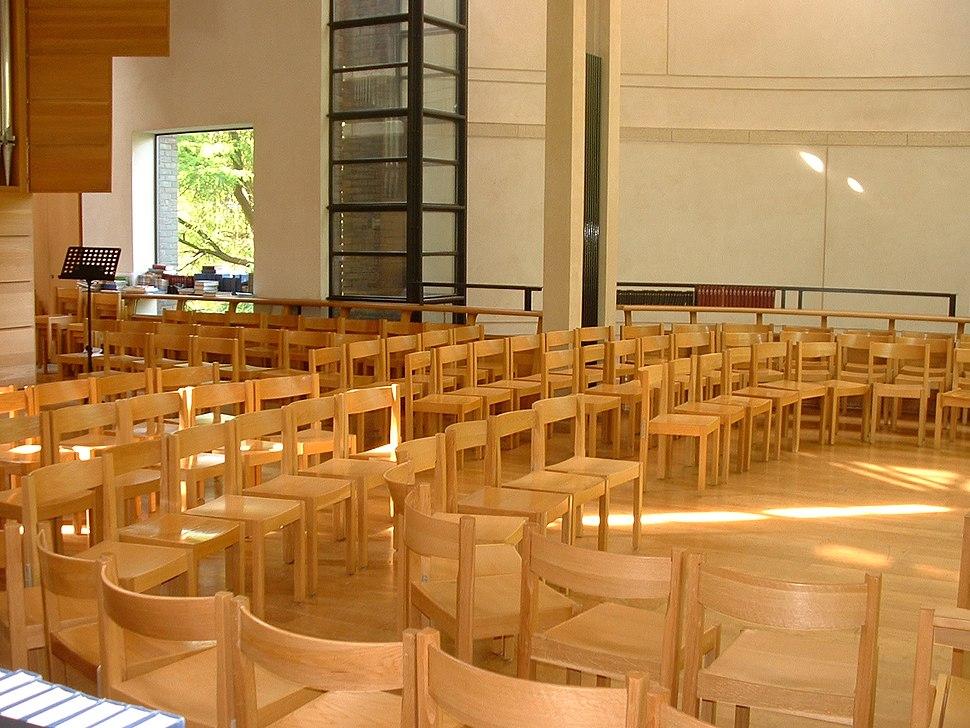 Inside Chapel, Fitz