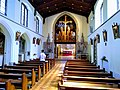 Inside St Augustine's Abbey, Chilworth.jpg