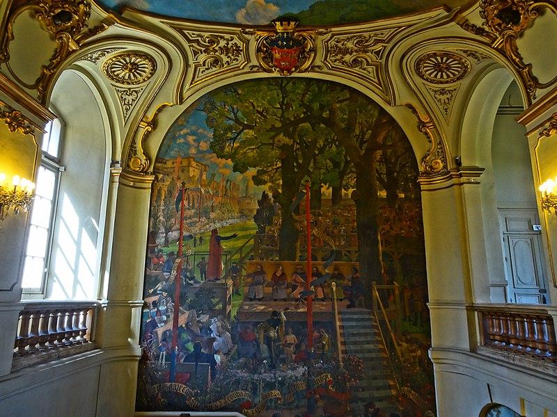 File:Intérieur du Capitole de Toulouse, vers la Salle des Illustres 05.JPG