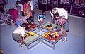 Interactive Area - Dinosaurs Alive Exhibition - Science City - Calcutta 1995-June-July 491.JPG