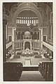 Interieur van de Nieuwe Synagoge in Berlijn banken en koor Berliner Synagogan (titel op object), RP-F-F01212-45-3.jpg