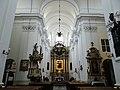 Interior of Saint Francis church in Warsaw - 03.jpg