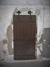Internal Cell Door 664, Eastern State Penitentiary.JPG