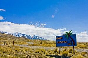 Skull Valley (Utah) - Image: Iosepa Welcome Sign