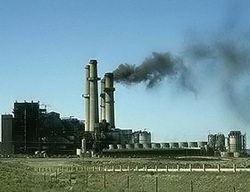 Εικόνα από Εργοστάσιο Παραγωγής Ηλεκτρικής Ενέργειας  στο Ιράκ.